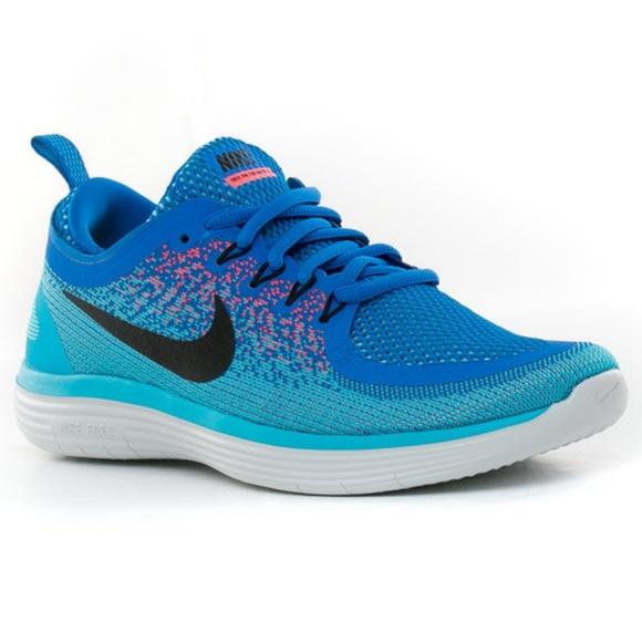 37afc78704588 Men s Nike Free Run Distance 2 Running Shoe Blue. M 5b4c05a1e944bad46b89f843